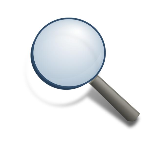 Symbolbild Lupe