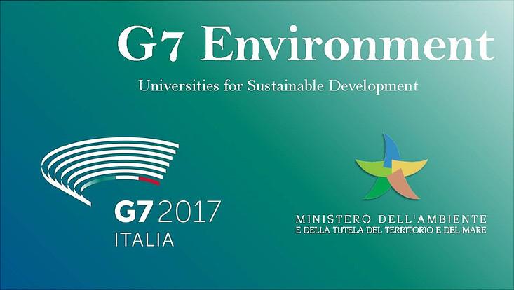 Prof. Dr. Rieckmann beim G7 Treffen in Bologna