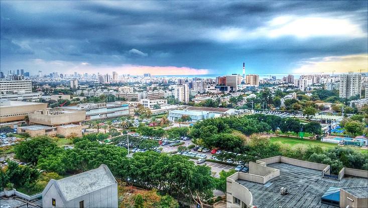 Blick auf Tel Aviv