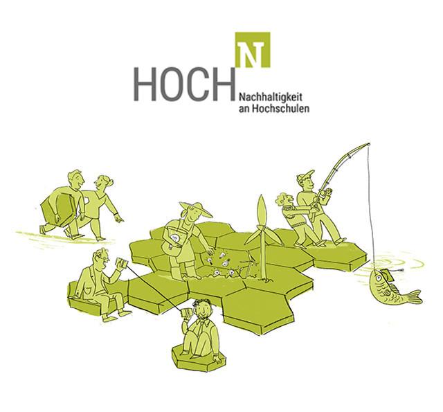 HOCH-N Logo und Grafik