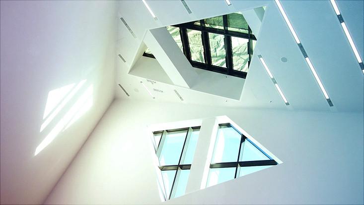 Architektur im Liebeskindgebäude Lüneburg