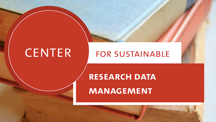 Center for sustainable research data management