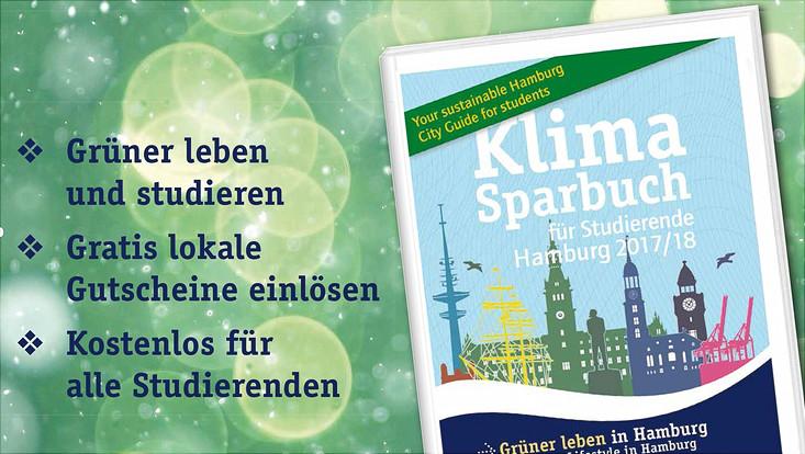 Plakat Klimasparbuch