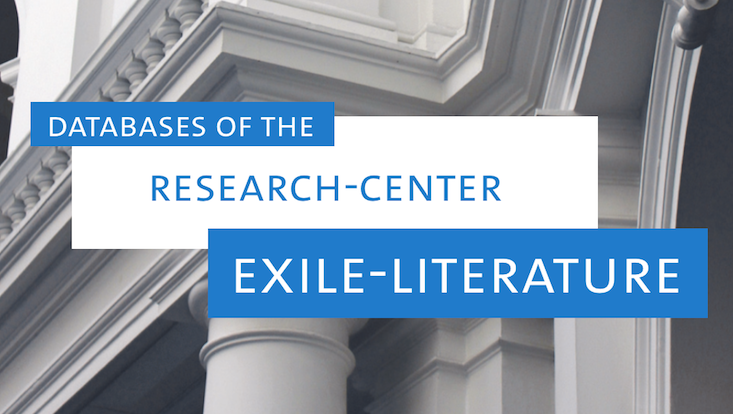 Databases of the research center exile-literature