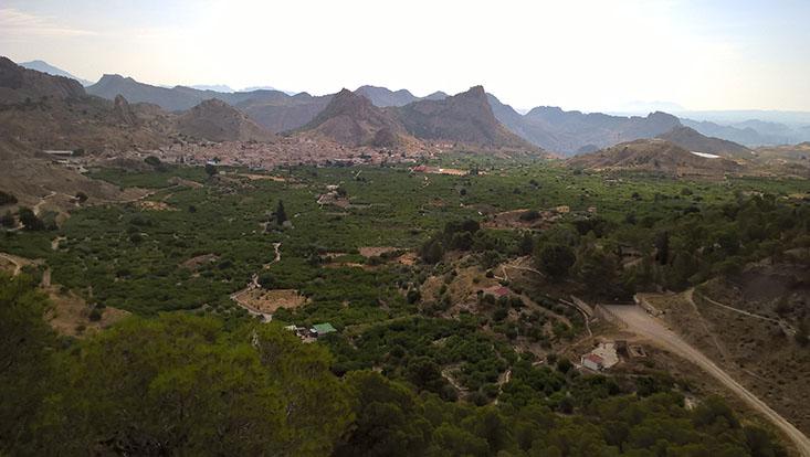 Landschaft Ricote