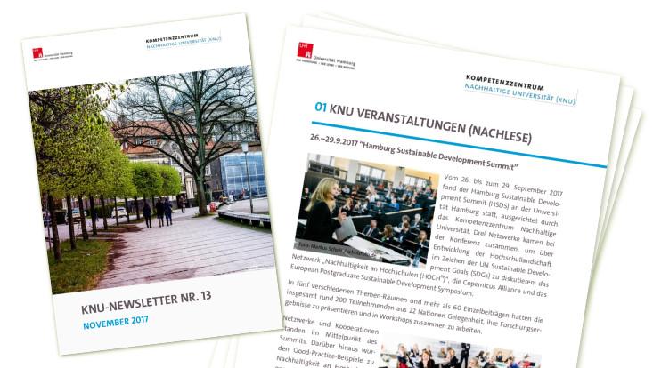 Vorschau Newsletter: Cover, 1. Seite