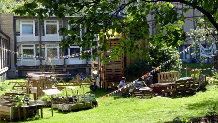 Wurzelwerk Urban Gardening Projekt
