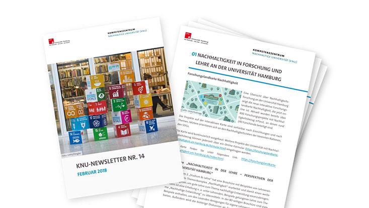 Vorschau KNU Newsletter Nummer 14: Cover und Seite 1