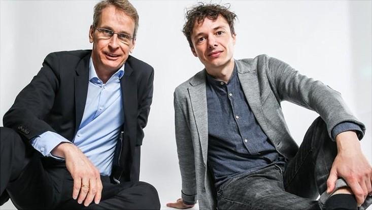 Prof. Dirk Ulrich Gilbert und Prof. Moritz Schulz