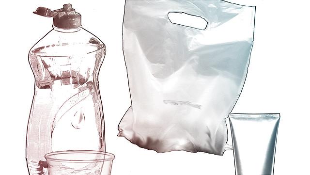 Gegenstände aus Plastik