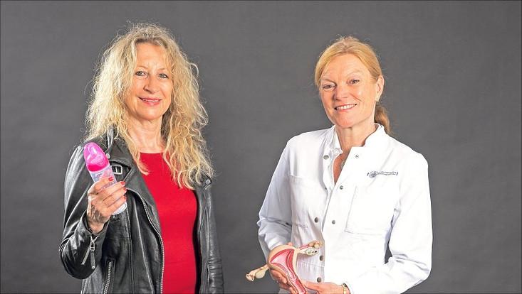 Soziologie-Professorin Dr. Birgit Pfau-Effinger und Prof. Dr. Barbara Schmalfeldt (UKE)