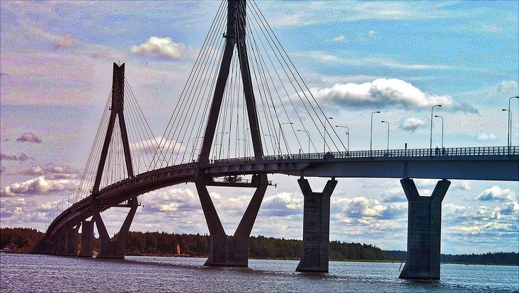Brücke in Vaasa