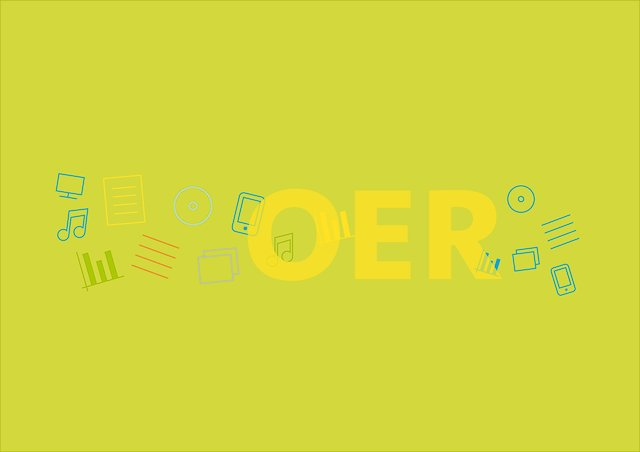 """Was ist """"OER""""? Visualisierung"""