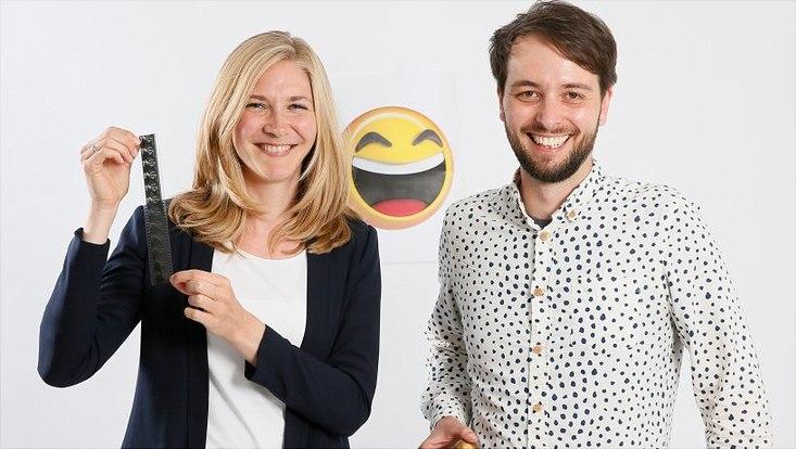 Medien- und Kommunikationswissenschaftlerin Prof. Dr. Judith Ellenbürger und Psychologe Dr. Marcel Riehle