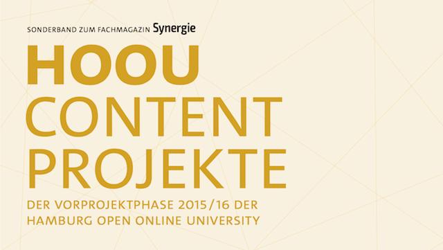 Ausschnitt Cover HOOU Content Projekte 2015/16