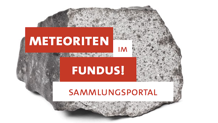 Meteoriten im Fundus Sammlungsportal