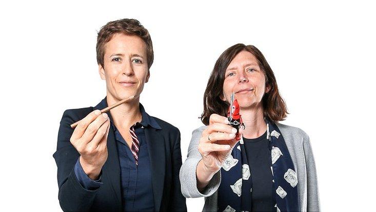 Kriminologin Prof. Dr. Christine Hentschel (l.) und Bildungswissenschaftlerin Prof. Dr. Sylvia Kesper-Biermann