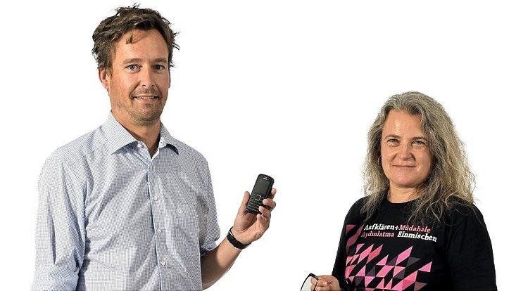 Betriebswirt Prof. Dr. Timo Busch und Geographie-Professorin Dr. Martina Neuburger