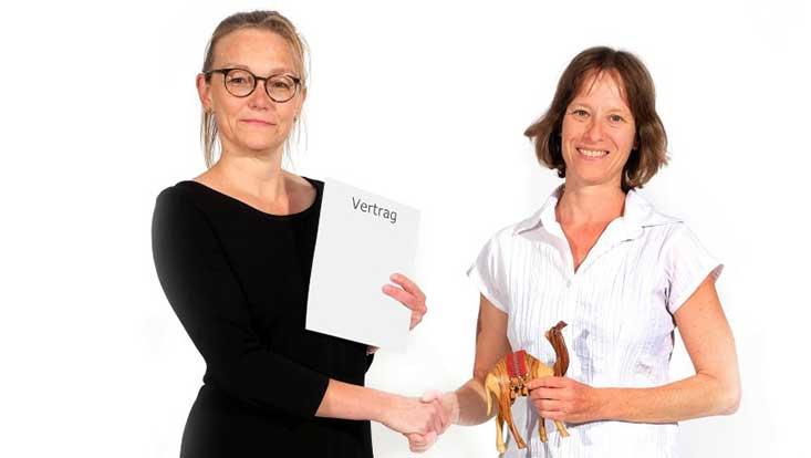 PD Dr. Astrid Wonneberger und Prof. Dr. Miriam Beblo von der universität Hamburg
