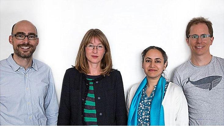Gruppenbild des Forschungsteams