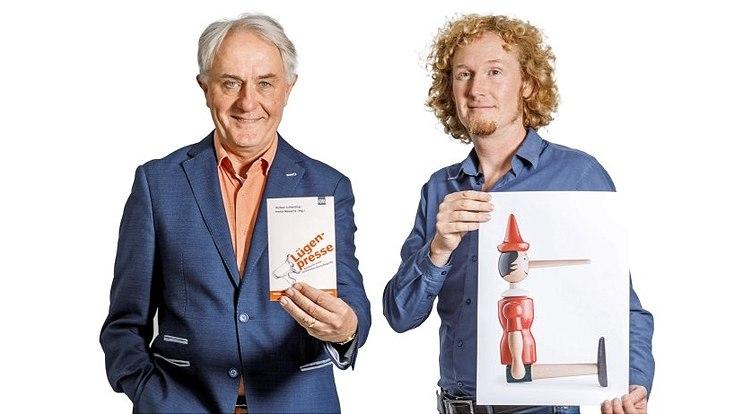 Prof. Dr. Volker Lilienthal, Journalist und Kommunikationswissenschaftler (l.) und Prof. Dr. Ulf Liszkowski, Entwicklungspsychologe