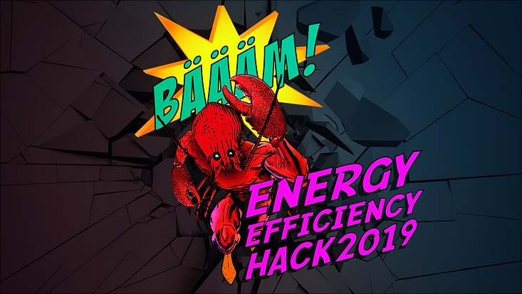 Key Visual des Energy Efficiency Hack 2019