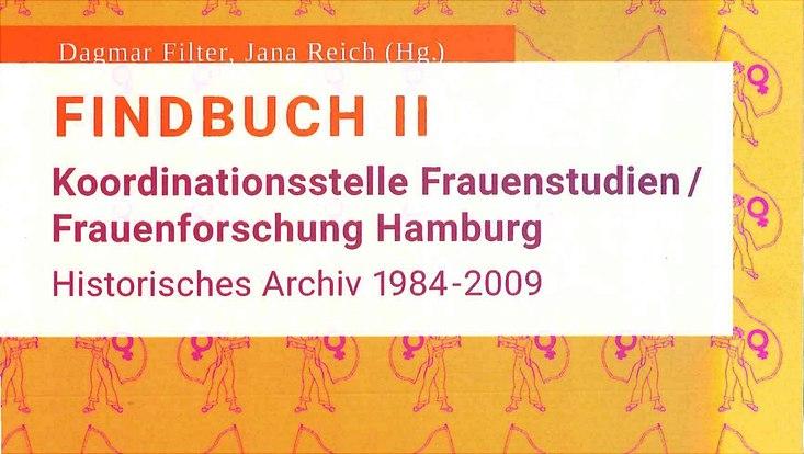 Titelseite vom Findbuch