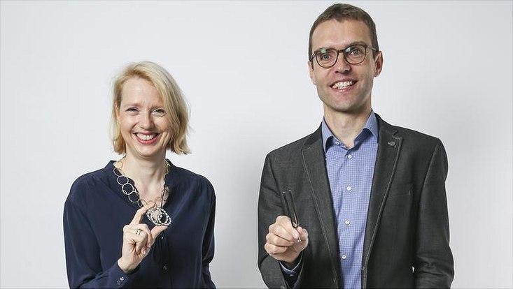 Musikwissenschaftler Prof. Dr. Clemens Wöllner und Wirtschaftswissenschaftlerin Prof Dr. Jetta Frost