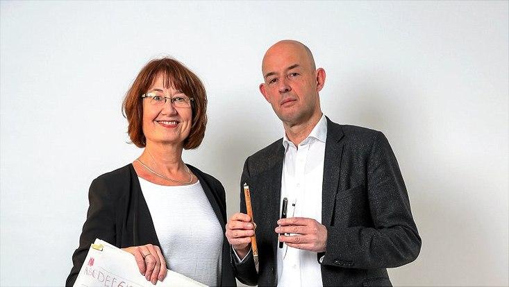 Prof. Dr. Petra Hüttis-Graff und Prof. Dr. Jörg Quenzer