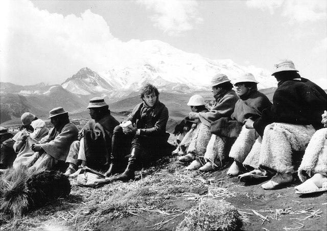 """Filszene aus dem Film """"Die Besteigung des Chimborazo"""""""