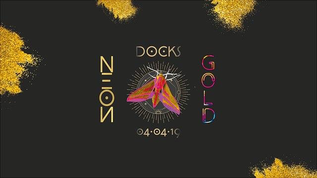 Neon/Gold-Party vom AStA
