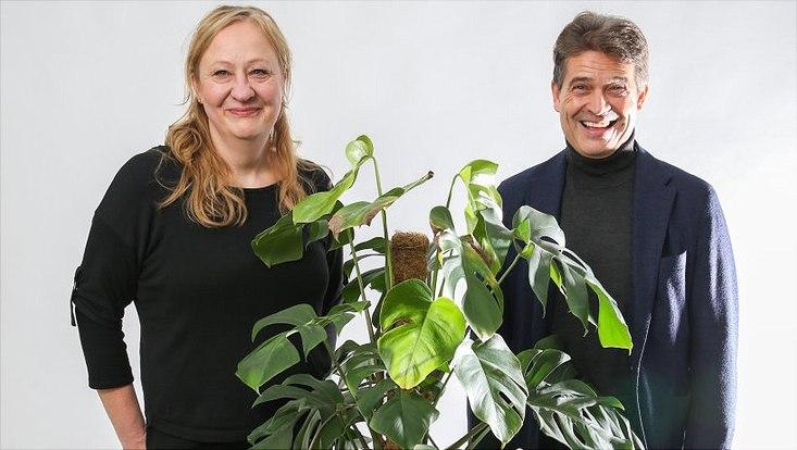 Prof. Julia Kehr und Prof. Jörg Fromm von der Universität Hamburg