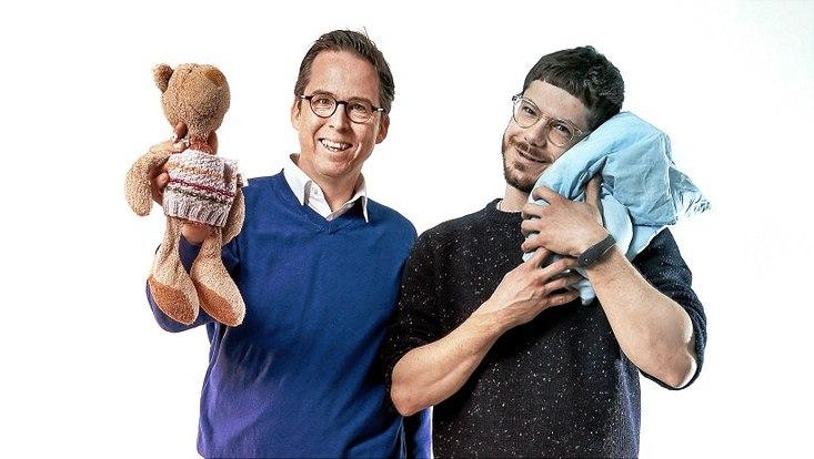 Prof. Dr. Martin Scherer vom UKE (Direktor des Zentrums für Psychosoziale Medizin)) und Mathias Kammerer (Wiss. Mitarbeiter - Klinische Psychologie)