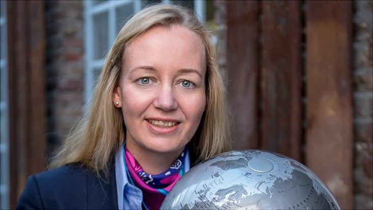 Ein Profilfoto von Sandra Sprenger.