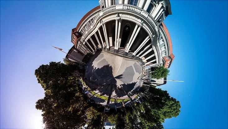 Kugelpanorama des ESA Hauptgebäudes