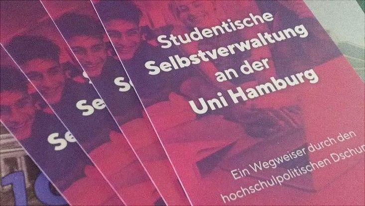Flyer studentische Selbstverwaltung