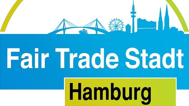 Das Logo der Fair Trade Stadt Hamburg
