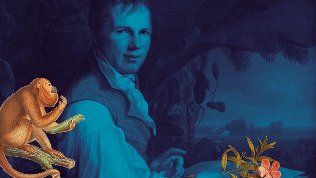Ausstellungsmotiv Humboldt lebt