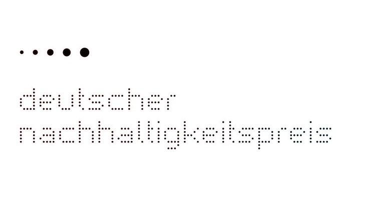 Das Logo des Deutschen Nachhaltigkeitspreises