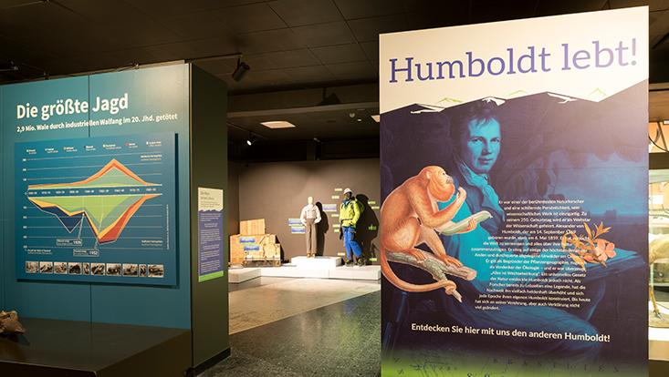 Humboldt lebt Sonderausstellung