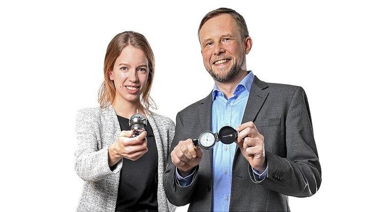 Dr. Annika Meinecke und Dr. Fabian Hattke