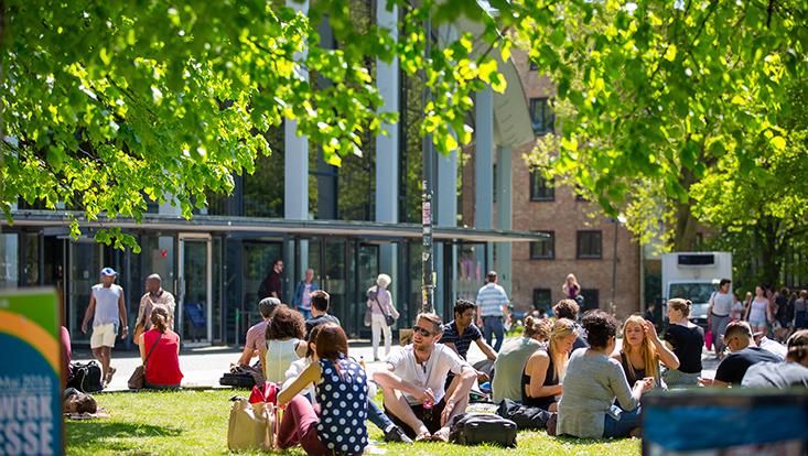 UHH-Campus im Sommer