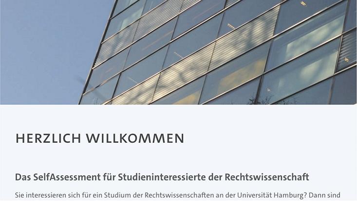 Startseite zum OSA-Jura-Check