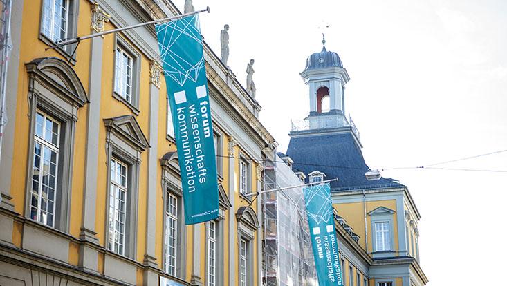 Podiumsdiskussion beim 11. Forum Wissenschaftskommunikation