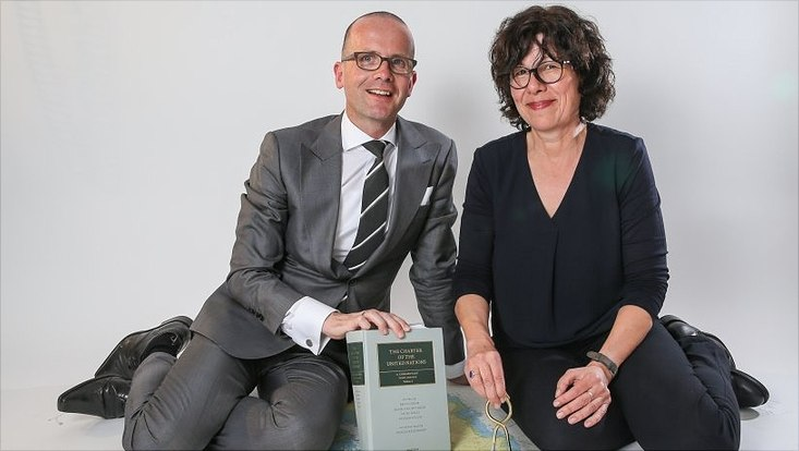 Prof. Antje Wiener und Prof. Markus Kotzur