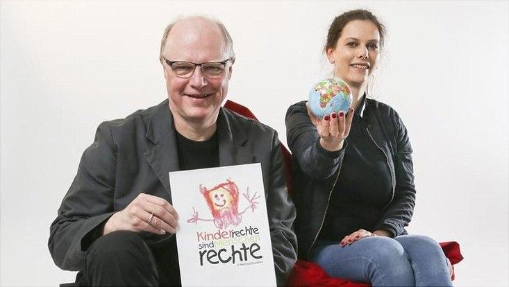 Prof. Dr. Benedikt Sturzenhecker und Prof.Dr. Zoe Clark