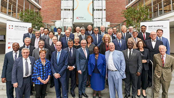 Group photo with participants of the GUC Hamburg 2019