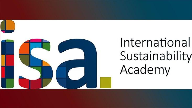 Das Logo der International Sustainability Academy