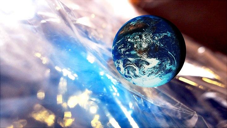 Erde stilisiert