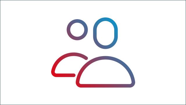 Das Icon zeigt zwei Personen.